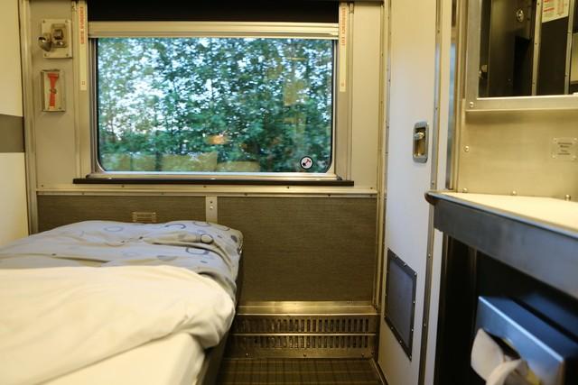 일반실 2층 침대칸.  이병학 선임기자