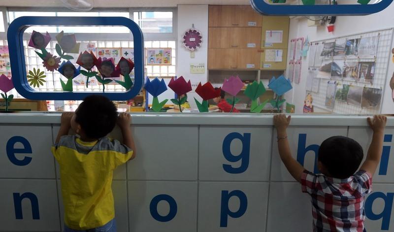 서울의 한 어린이집 모습. 박종식 기자 anaki@hani.co.kr