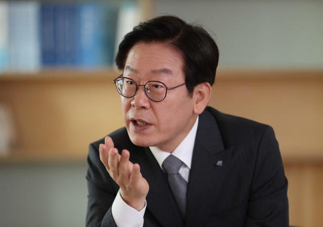 이재명 경기도지사. 한겨레 자료사진