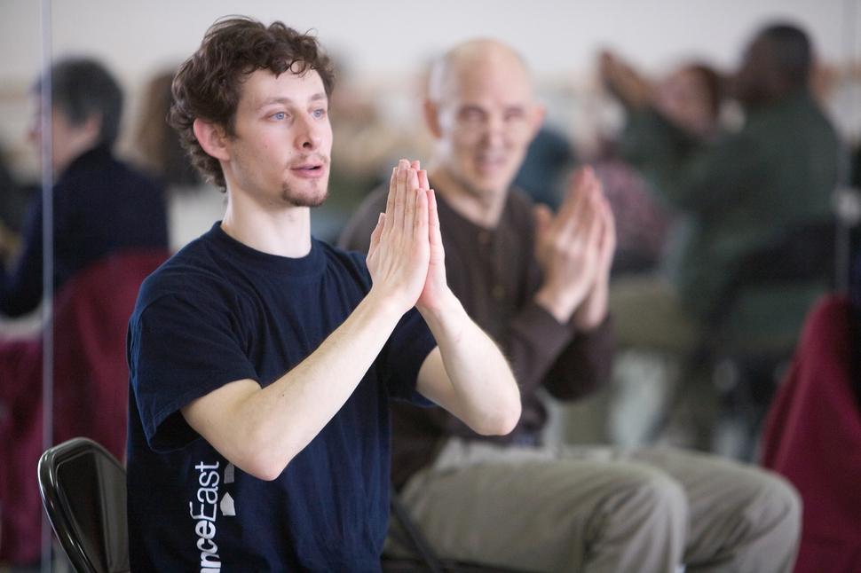 댄스 포 피디 프로그램을 만든 미국 안무가 데이비드 레벤탈. 마크 모리스 댄스 그룹 제공