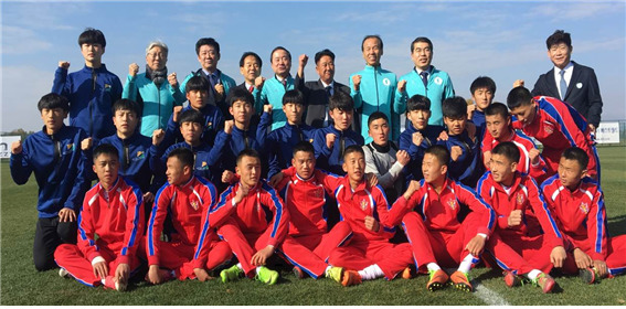 South Korea to partake in international youth soccer tournament in Pyongyang