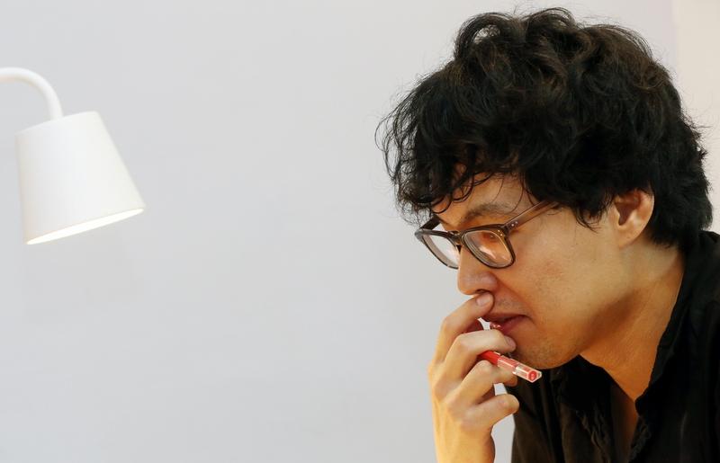 손아람. 소설가·래퍼. 2015년 8월19일. 서울 마포구 망원동.