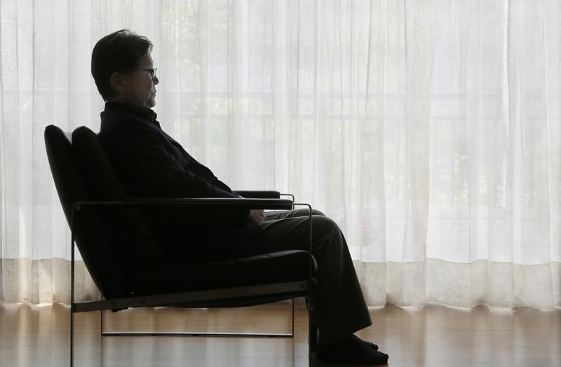 신영복. 성공회대학교 석좌교수. 2015년 4월24일. 서울 양천구 목동 자택. 2016년 1월15일 작고.