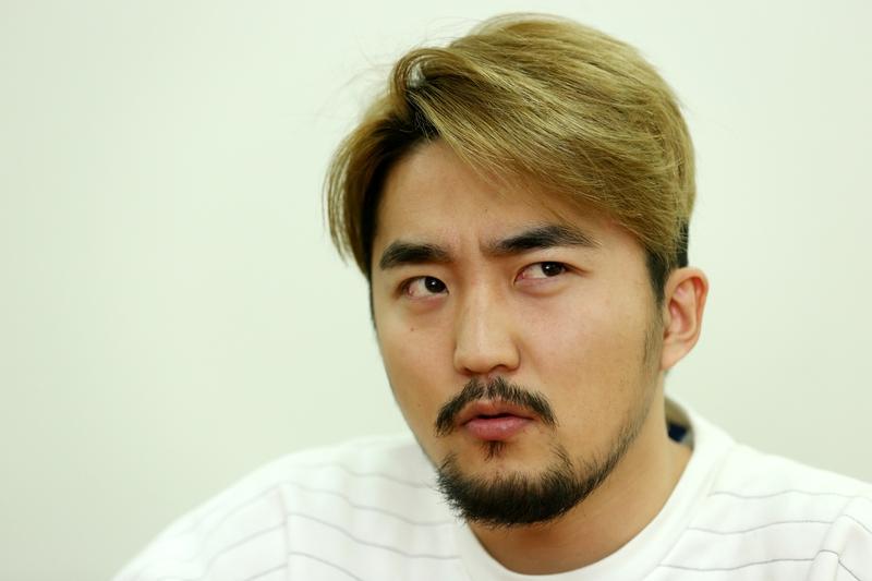 유병재. 방송작가·방송인. 2015년 2월13일. 서울 마포구 공덕동 한겨레신문사.