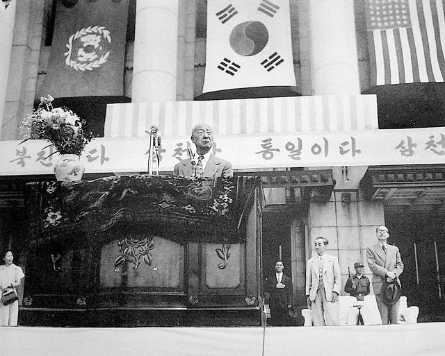 이승만 대통령. <한겨레> 자료 사진