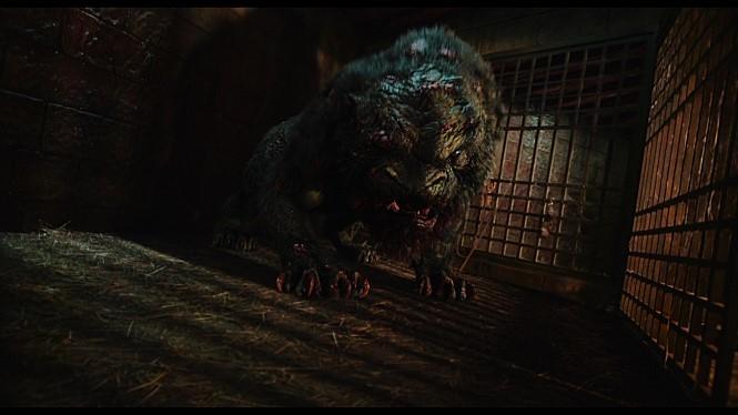 <물괴>(2018)는 조선 중종 때 인왕산에 출몰해 사람들을 공격하는 괴물의 실체를 추적하며 괴물을 둘러싼 소문의 진상을 파헤쳐가는 얘기다. 롯데엔터테인먼트 제공