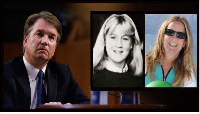 브랫 캐버노 미국 대법관 지명자(왼쪽)가 고교 시절이던 1982년 자신을 성추행했다고 폭로한 크리스틴 블레이시 포드 팔로앨토대학교 심리학 교수의 학창 시절과 최근 모습.