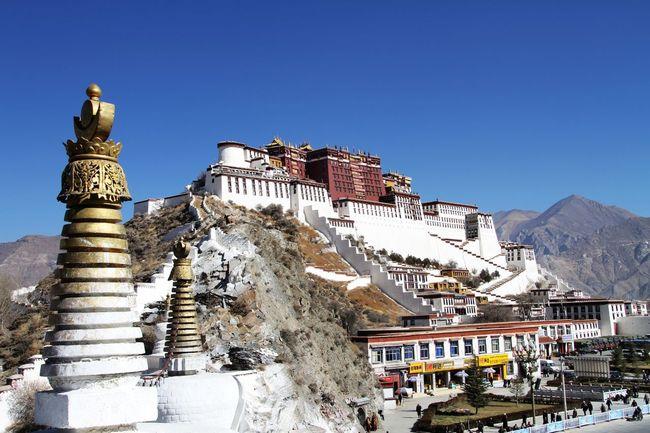 중국 티베트자치구 라싸의 포탈라궁. 한겨레 자료사진