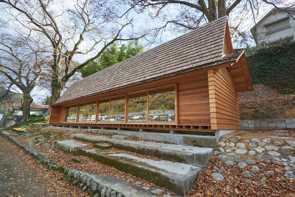 일본 '요시노 삼나무 집' . 지난해 4월 에어비앤비는 일본의 건축가, 마을 주민들과 함께 마을 커뮤니티 겸 에어비앤비 숙소로 쓰일 '요시 노 삼나무 집'을 열어, 관광객들을 불러 모으고 있다.    에어비앤비 제공.