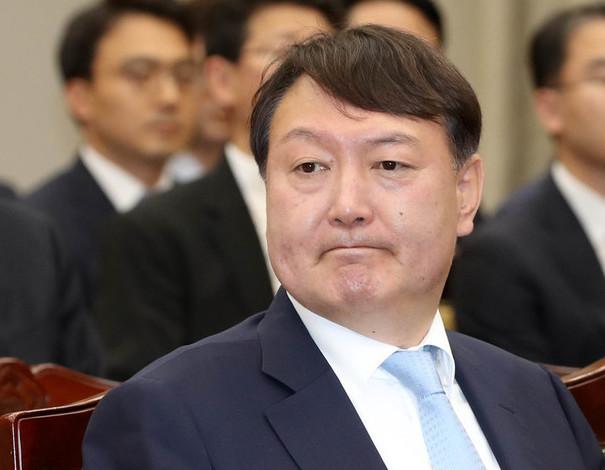 윤석열 서울중앙지검장.  한겨레 자료사진