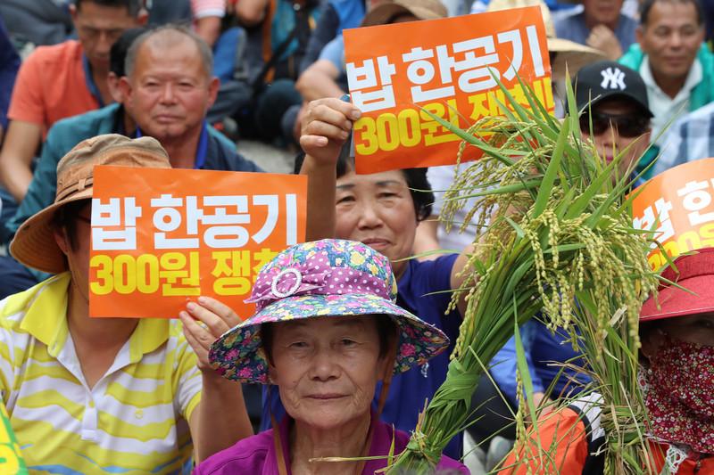 정부, 쌀 목표가격 18만8192만원 국회제출…직불제 개편도 논의