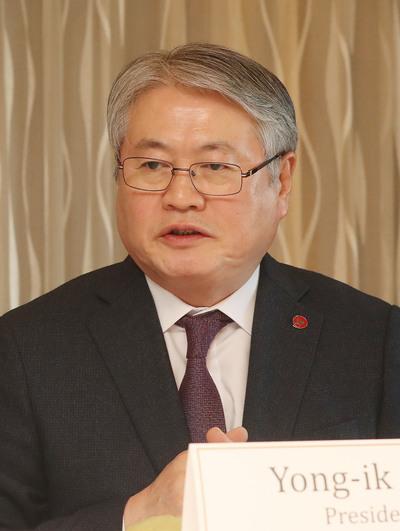 김용익 국민건강보험공단 이사장. 신소영 기자