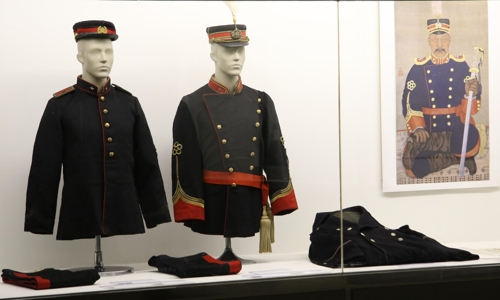 Photo] Korean Empire military uniforms open for first public
