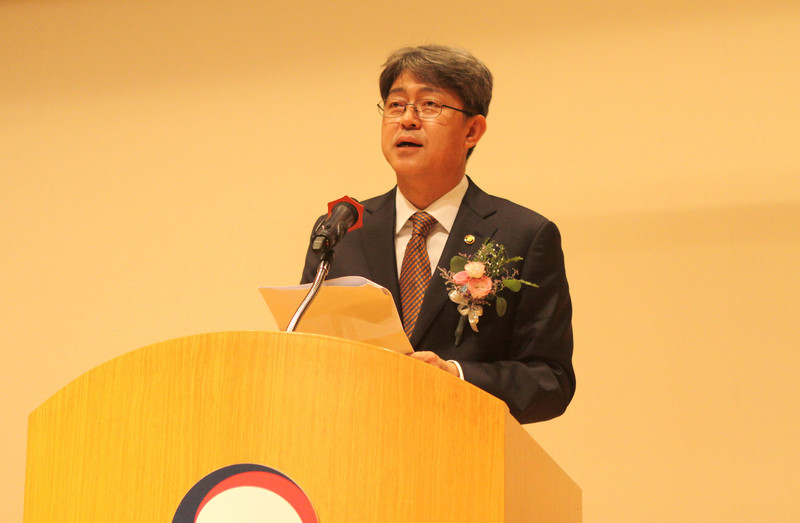 Opening ceremony of Commissioner Kang Shin-wook in August.