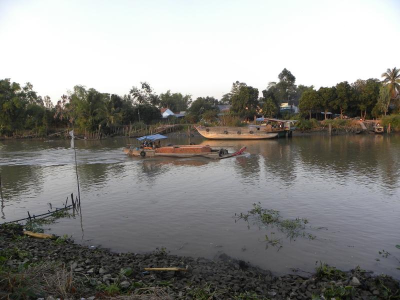 현재도 사용되는 오크에오 주변의 운하. 권오영 교수 제공