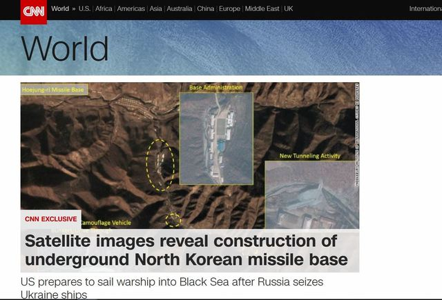 CNN's controversial report on North Korea 'expanding' missile base follows NY Times article