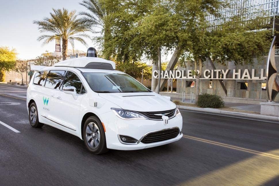 구글의 자율주행차 계열사인 웨이모가 12월5일(현지시각) 미국 애리조나주 피닉스시에서 세계 최초로 자율주행 택시 서비스에 들어갔다. 웨이모 제공