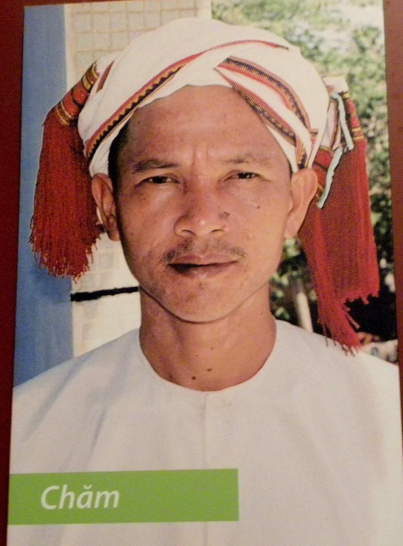 현재는 베트남의 소수민족으로 전락한 참족 남성의 모습. 베트남 민족학박물관. 권오영 교수