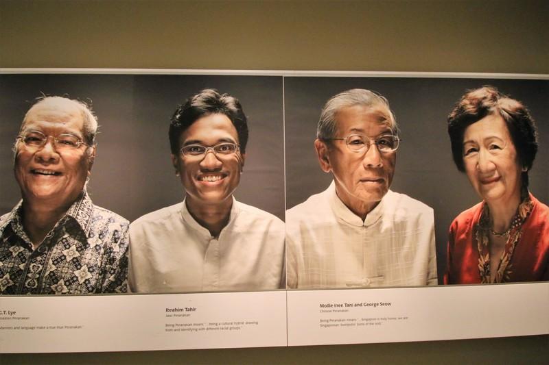 싱가포르는 다양한 인종들이 섞여 공존하는 다문화사회다. 싱가포르 페라나칸박물관에 전시돼 있는 페라나칸 혼혈인의 다양한 얼굴들. 권오영 교수 제공