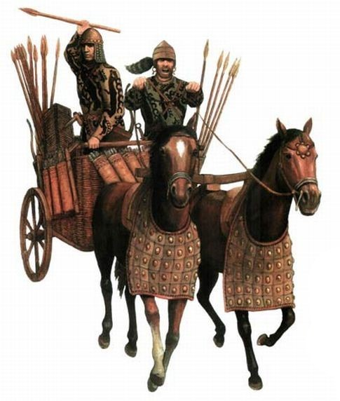 솔로비요프가 복원한 4천년 전 시베리아 전차 모습. 강인욱 제공