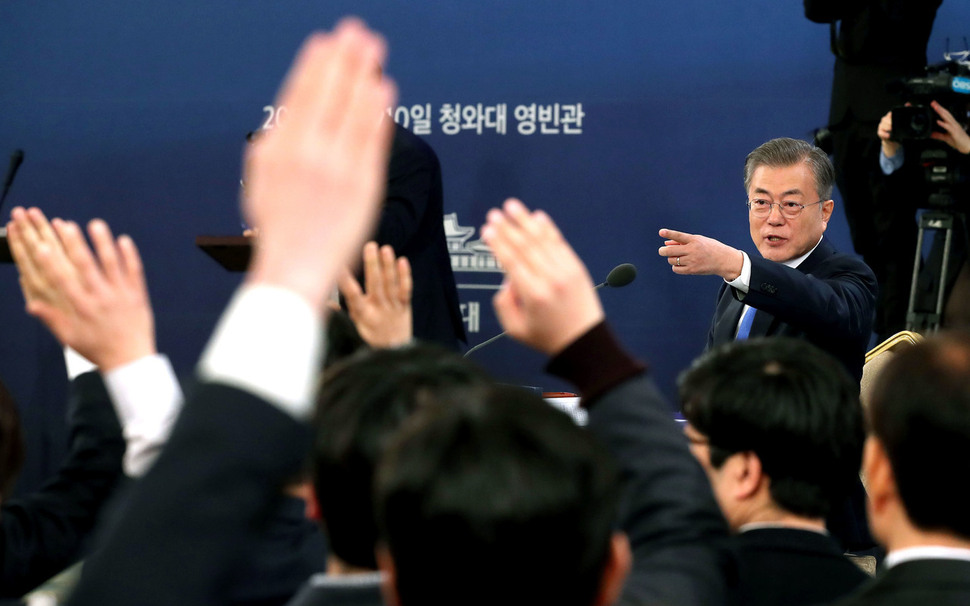 Moon says Kim Jong-un's Seoul visit will happen after 2nd N. Korea-US summit