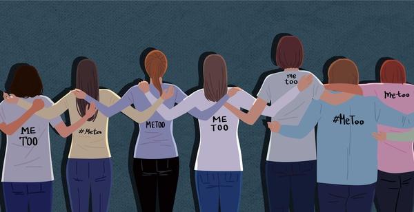 '미투' 운동을 통해 여성들의 용기와 연대가 서로에게 이어지고 있다. 게티이미지뱅크