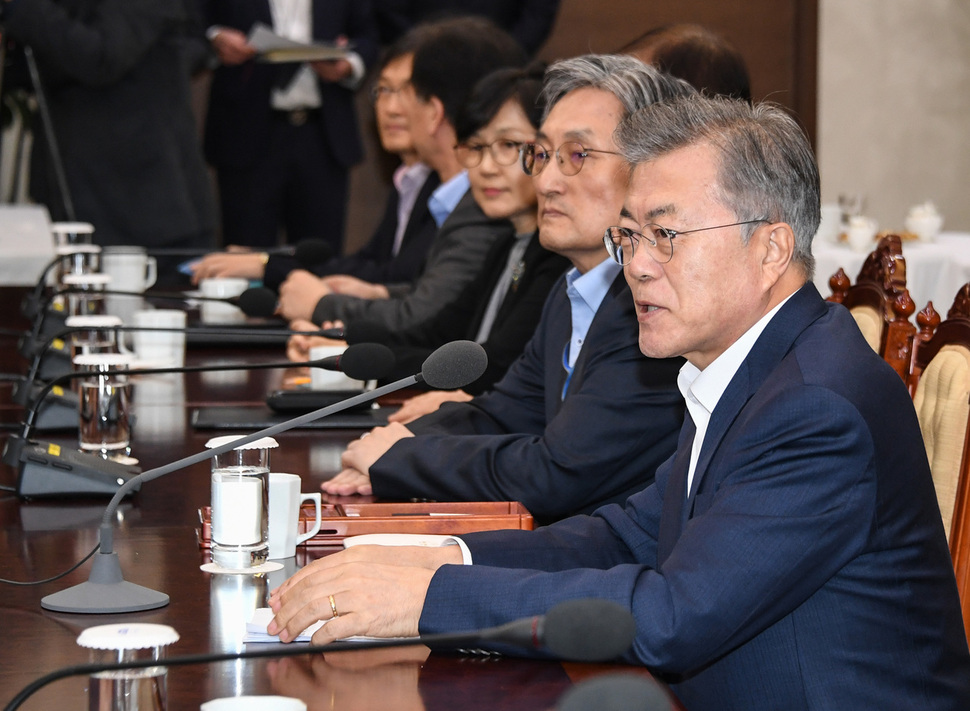 Moon expresses high hopes for 2nd N. Korea-US summit