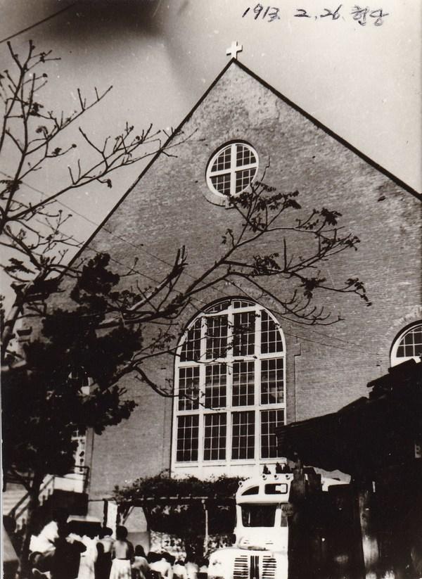 ◆서울 종로구 승동 예배당 전경. 승동교회 누리집.