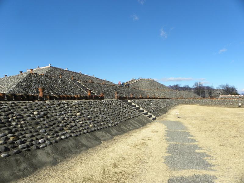 군마현의 옛 이름인 가미쓰케누의 우두머리가 묻혀 있는 호도타 고분. 권오영 교수 제공