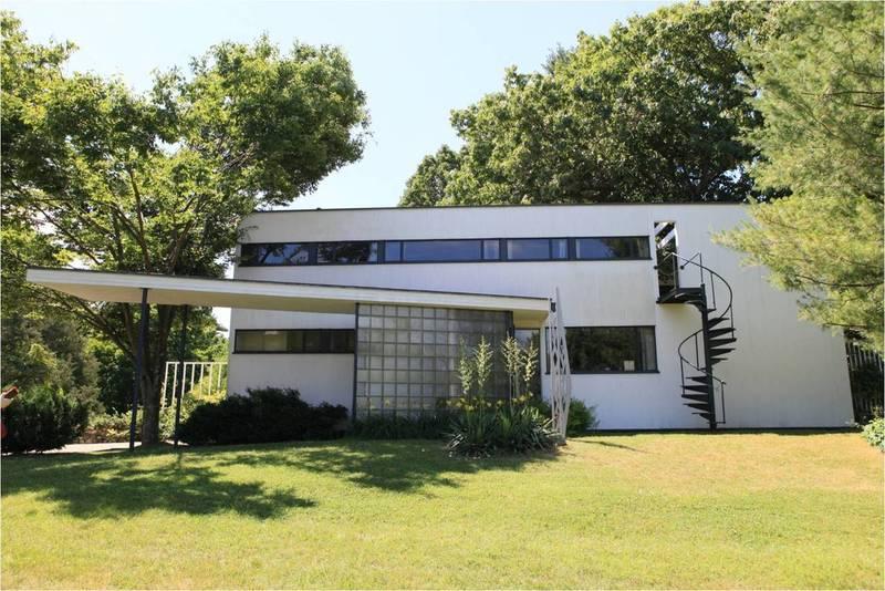 그로피우스 하우스. 1938년 그로피우스가 하버드대 건축과 교수직을 맡아 미국에 정착한 이듬해 지은 집이다. 김민수 교수 제공