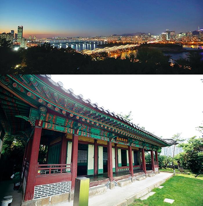 서울 최고 야경이 펼쳐지는 조선 시대 정자