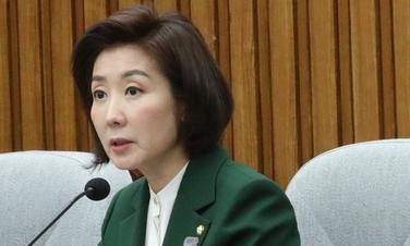 """'뿔난' 나경원 """"김학의 재수사는 문재인의 '1타4피' 전략"""""""