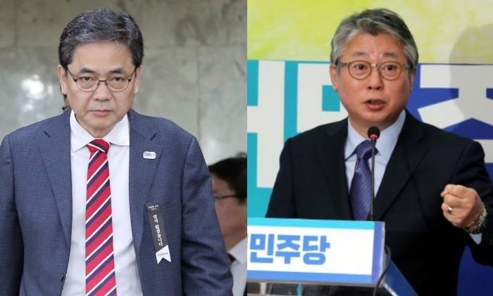 '박근혜 청와대 한솥밥' 곽상도·조응천의 '희비 쌍곡선'