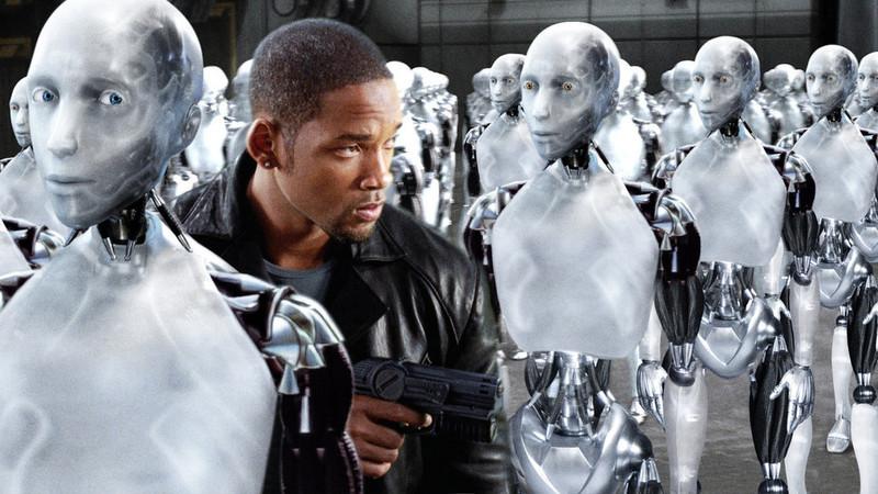2035년을 배경으로 한 할리우드의 에스에프(SF) 영화 <아이로봇>은 자율적인 판단과 실행 능력을 갖춘 인공지능 로봇이 등장해 사람의 지시를 따르지 않는 상황을 배경으로 한다.  <한겨레> 자료사진.