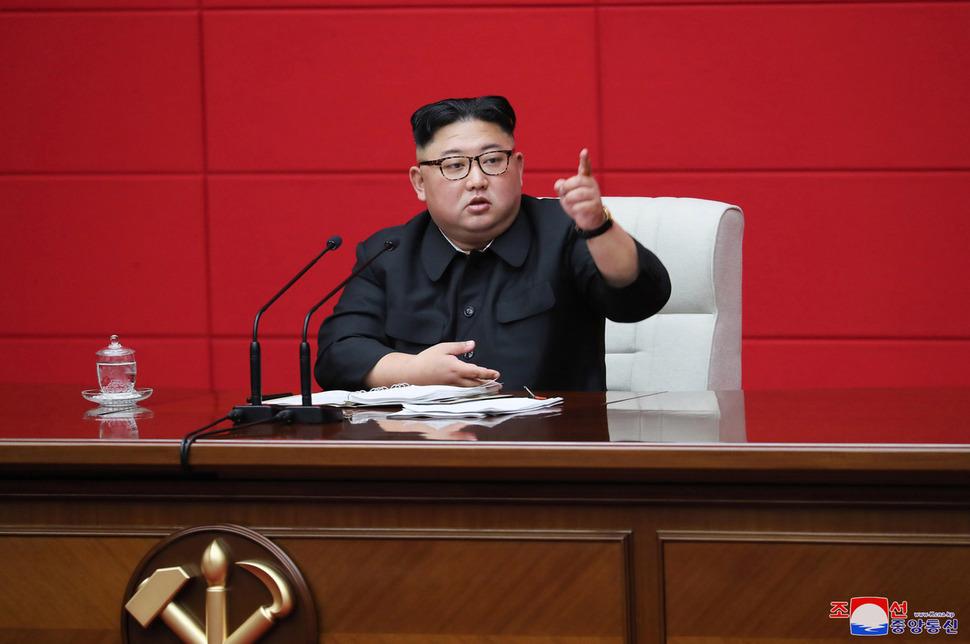 Kim Jong-un emphasizes dealing 'telling blow to hostile forces that focus exclusively on sanctions'