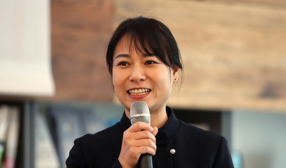 김진경 LAB2050 기획위원. 김경호 선임기자 jijae@hani.co.kr