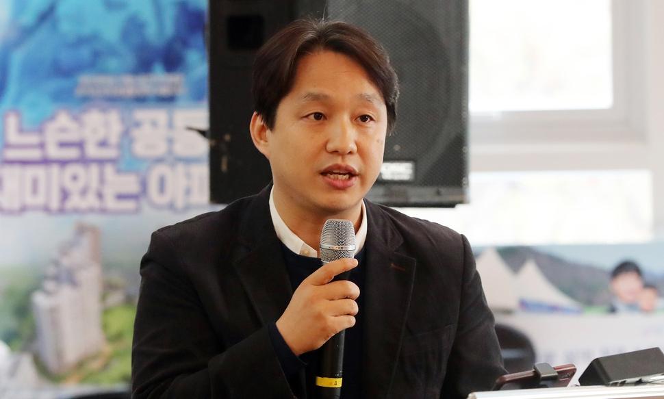 양동수 사회혁신기업 더함 대표. 김경호 선임기자 jijae@hani.co.kr