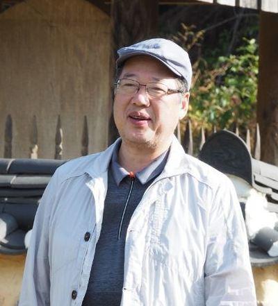 사단법인 인문연구원 동고송의 상임이사 황광우 작가.