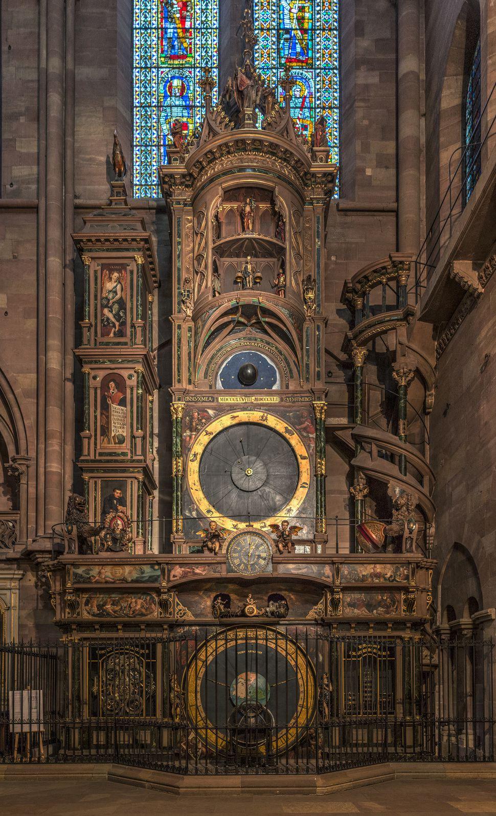 그림5. 스트라스부르 대성당 천문시계, ⓒDAVID ILIFF