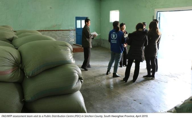 S  Korea says plans to provide humanitarian food aid to N