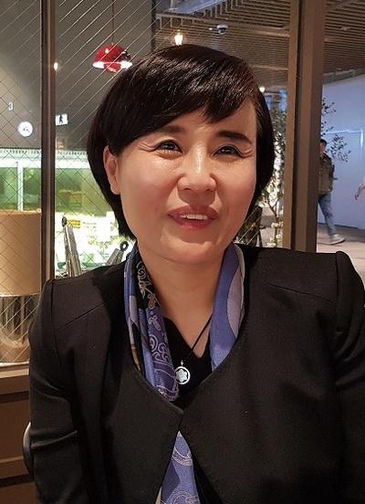 지난 4월26일 인터뷰중인 전주 예수대 사회복지학과 배진희 교수. 사진 서혜빈 연구원