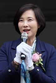 유은혜 사회부총리 겸 교육부 장관.