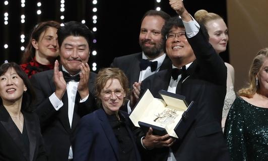 한국영화 100년의 힘…봉준호, 칸 정상에 서다