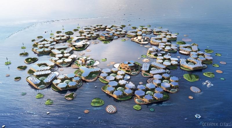 해상도시는 기후난민을 위한 '노아의 방주'가 될까