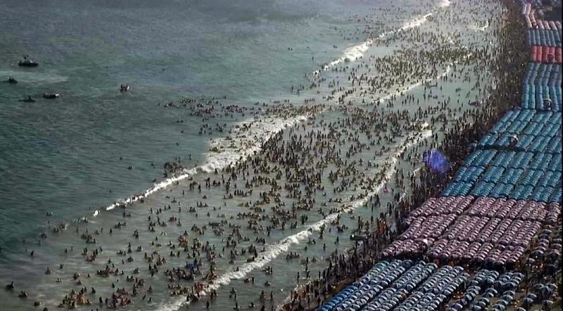여름철 해수욕장의 복병 '이안류'