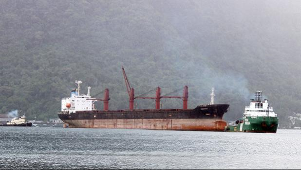 US federal court approves request to sell seized N. Korean cargo ship