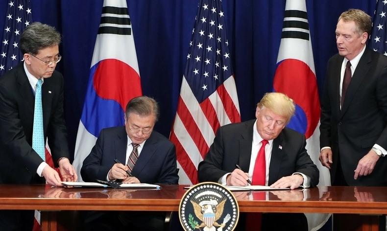 북미협상·지소미아·방위비…난제 안고 트럼프 만나는 문 대통령