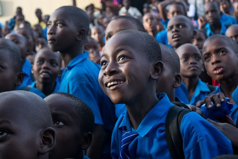 사하라사막 이남 아프리카 나라들의 중위연령은 대부분 20세가 안 된다. 픽사베이