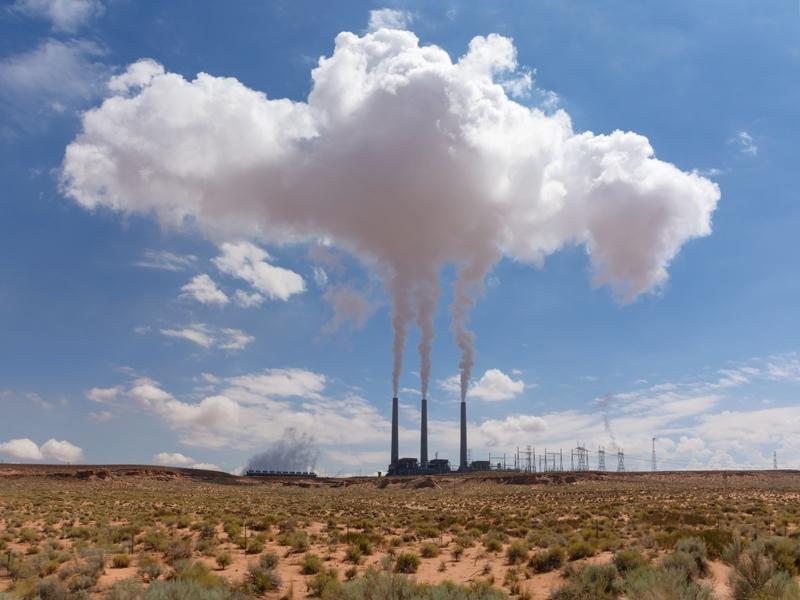 미국 애니조나주 나바호석탄발전소가 올해 말 폐쇄될 전망으로, 대형 석탄발전소 퇴역 러시를 알리는 신호로 받아들여지고 있다. 게티이미지뱅크 제공