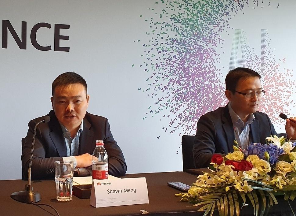 """화웨이 """"5G SA 공급, 한국 이통3사와 논의중…미국 제재는 한국에 기회"""""""